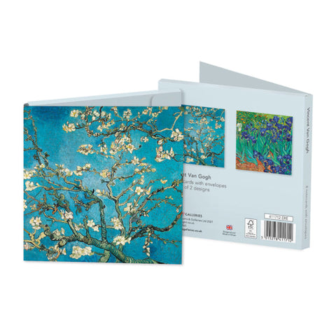 Pack of 8 Notecards - Vincent Van Gogh