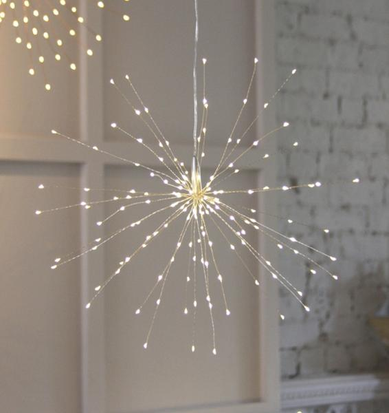 Hanging Starburst Light