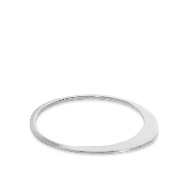 Elliptical Bangle Sterling Silver