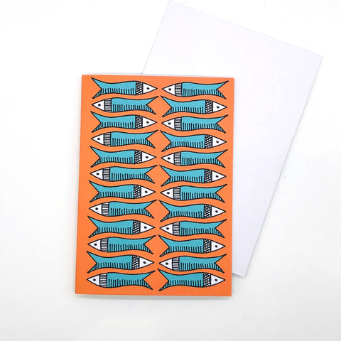 Greetings Card - Plenty More Fish