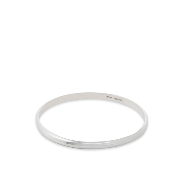 Domed Bangle Sterling Silver