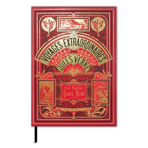 Lined Journal with Jules Verne Book Cover