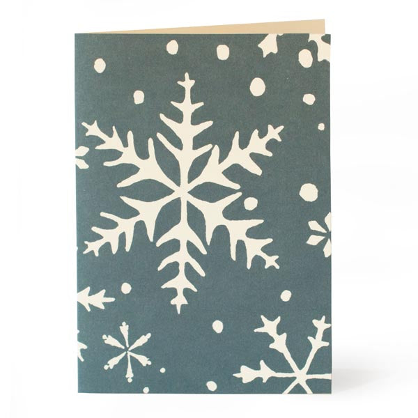 Pack of 10 Christmas Cards - Snowflake