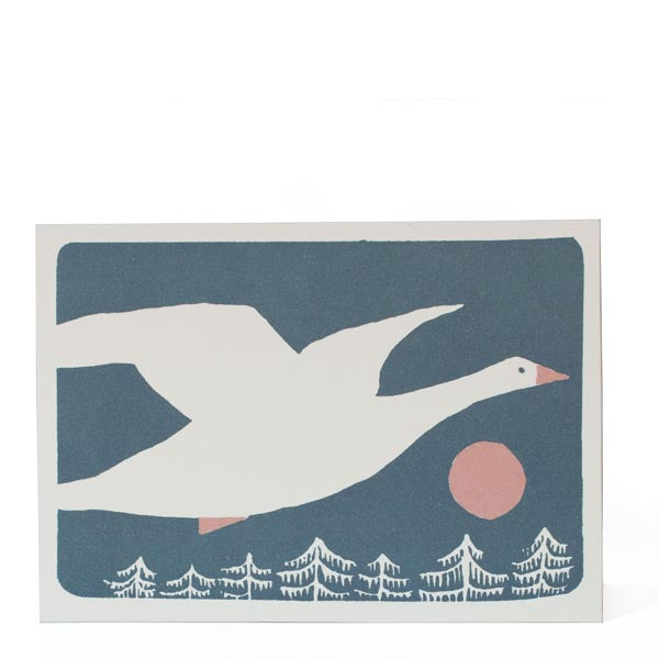 Pack of 10 Christmas Cards - Snow Goose
