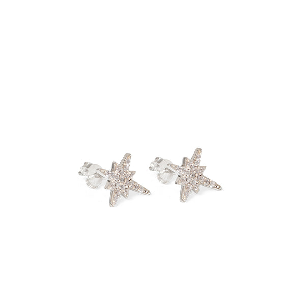 Starburst Stud Earrings Diamanté
