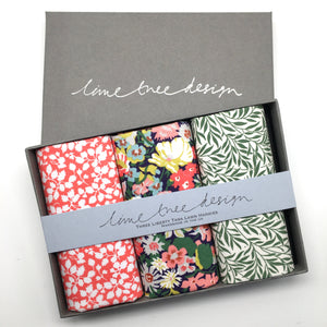 3 Liberty Hankies in a Gift Box - Robin Hood