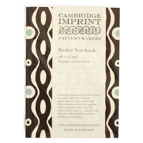 Pocket Notebook Persephone Charcoal