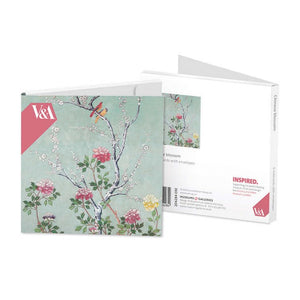 Pack of 8 Notecards - Chinese Blossom