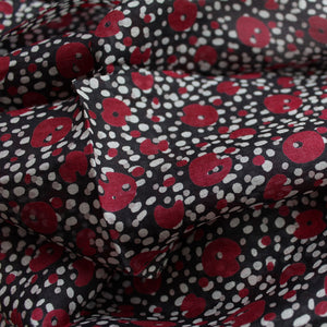 Peony Silk Scarf - Abstract Spot