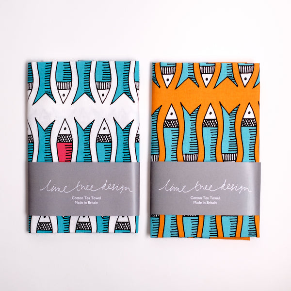 Tea Towel - Plenty More Fish
