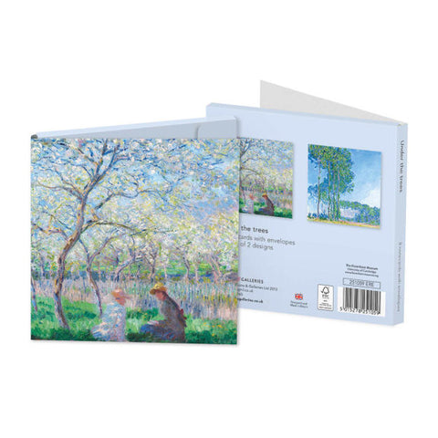 Pack of 8 Notecards - Under The Trees