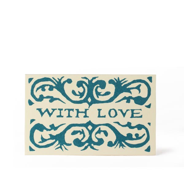 Pack of 6 Gift Cards - With Love