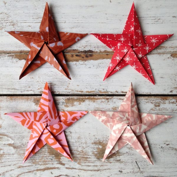 Origami Star Garland Kit