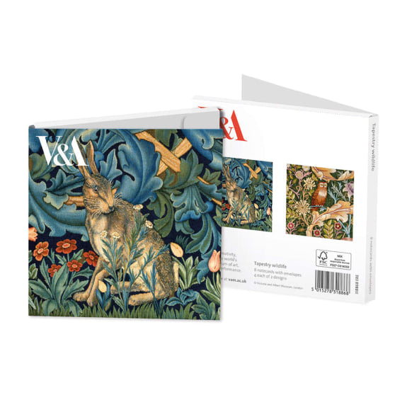 Pack of 8 Notecards - Tapestry Wildlife