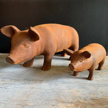 Load image into Gallery viewer, Cast Iron Piglet Ornament Henderson's