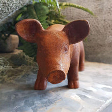 Load image into Gallery viewer, Cast Iron Piglet Ornament Henderson's medium