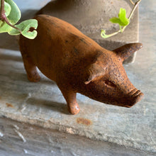 Load image into Gallery viewer, Cast Iron Piglet Ornament Henderson's small