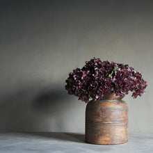 Load image into Gallery viewer, Damson Hydrangea Faux Stem Henderson's