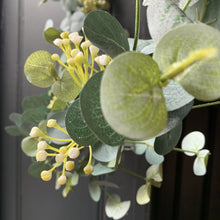Load image into Gallery viewer, Eucalyptus & White Flower Garland Garland Henderson's