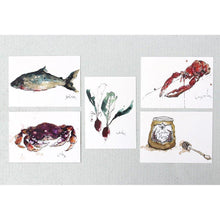 Load image into Gallery viewer, Foodie Postcard By Anna Wright Postcard Henderson's