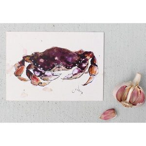 Foodie Postcard By Anna Wright Postcard Henderson's crab