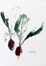 Load image into Gallery viewer, Foodie Postcard By Anna Wright Postcard Henderson's radish