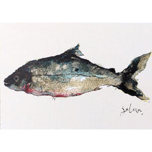Load image into Gallery viewer, Foodie Postcard By Anna Wright Postcard Henderson's salmon