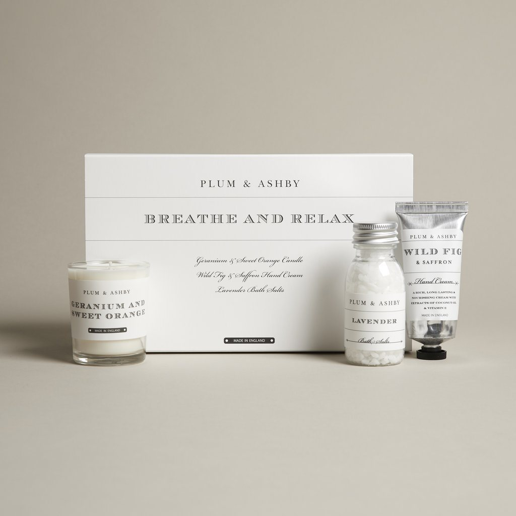Gift Set Breathe & Relax By Plum & Ashby Gift Set Henderson's