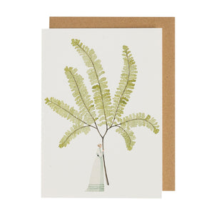 Illustrated Greetings Cards Greetings card Henderson's Fern 4