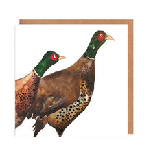 Load image into Gallery viewer, Illustrated Greetings Cards Greetings card Henderson's Pheasants