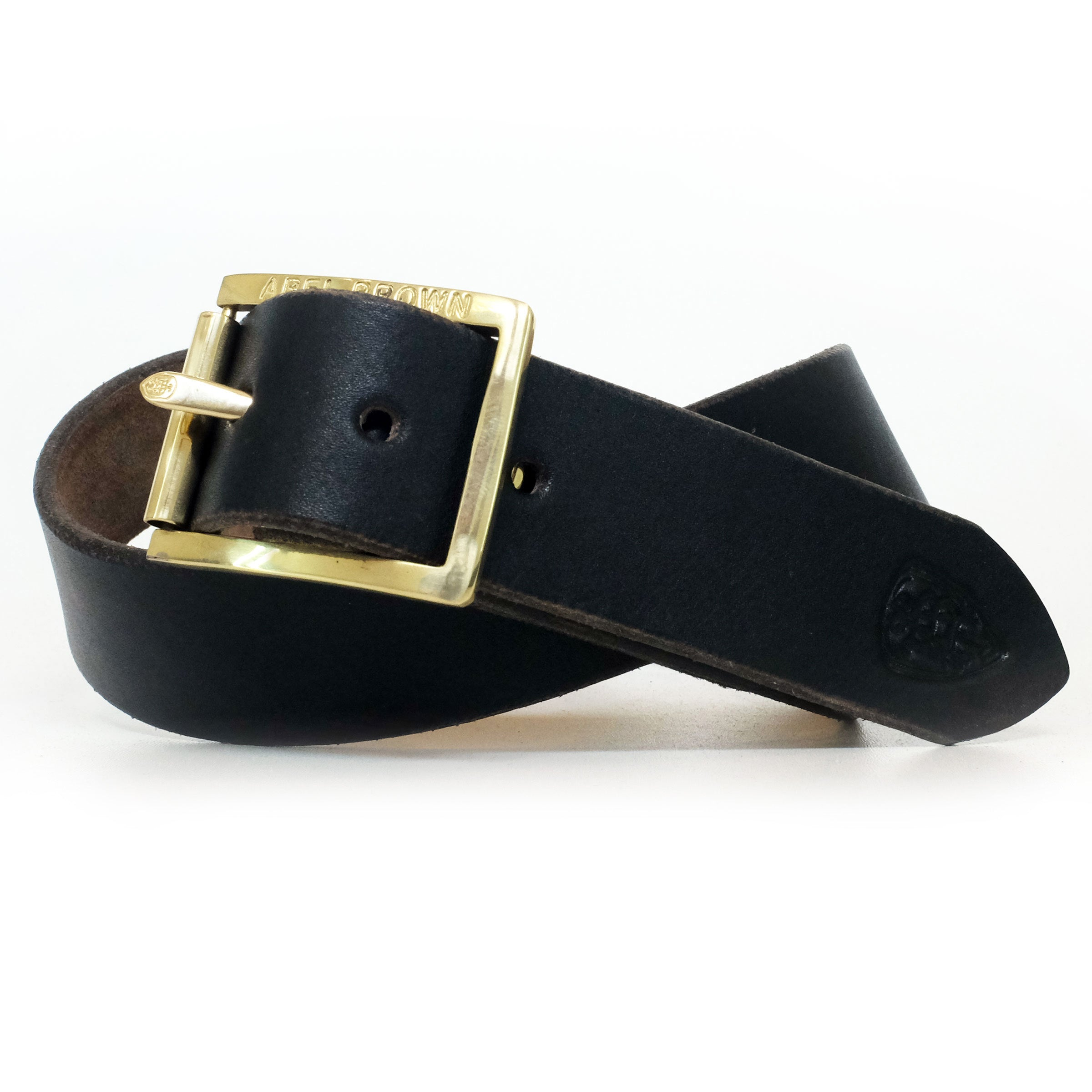 Double-Back Belt - Black - Abel Brown
