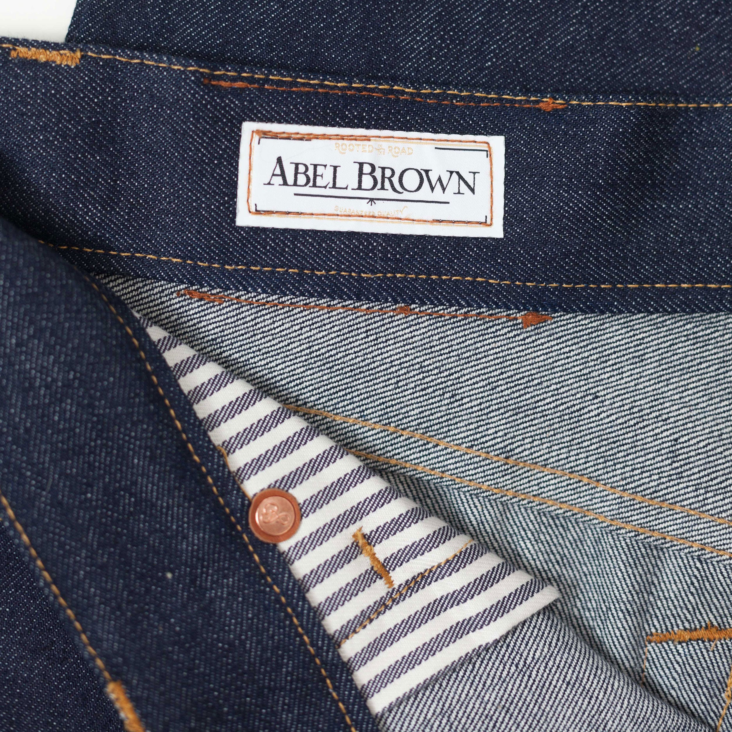 Silverton Selvedge Denim - Abel Brown