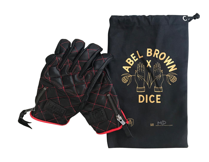 DicE x Abel Brown Collab Glove - Abel Brown