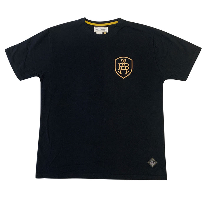 Abel Brown Eagle Tee - Black