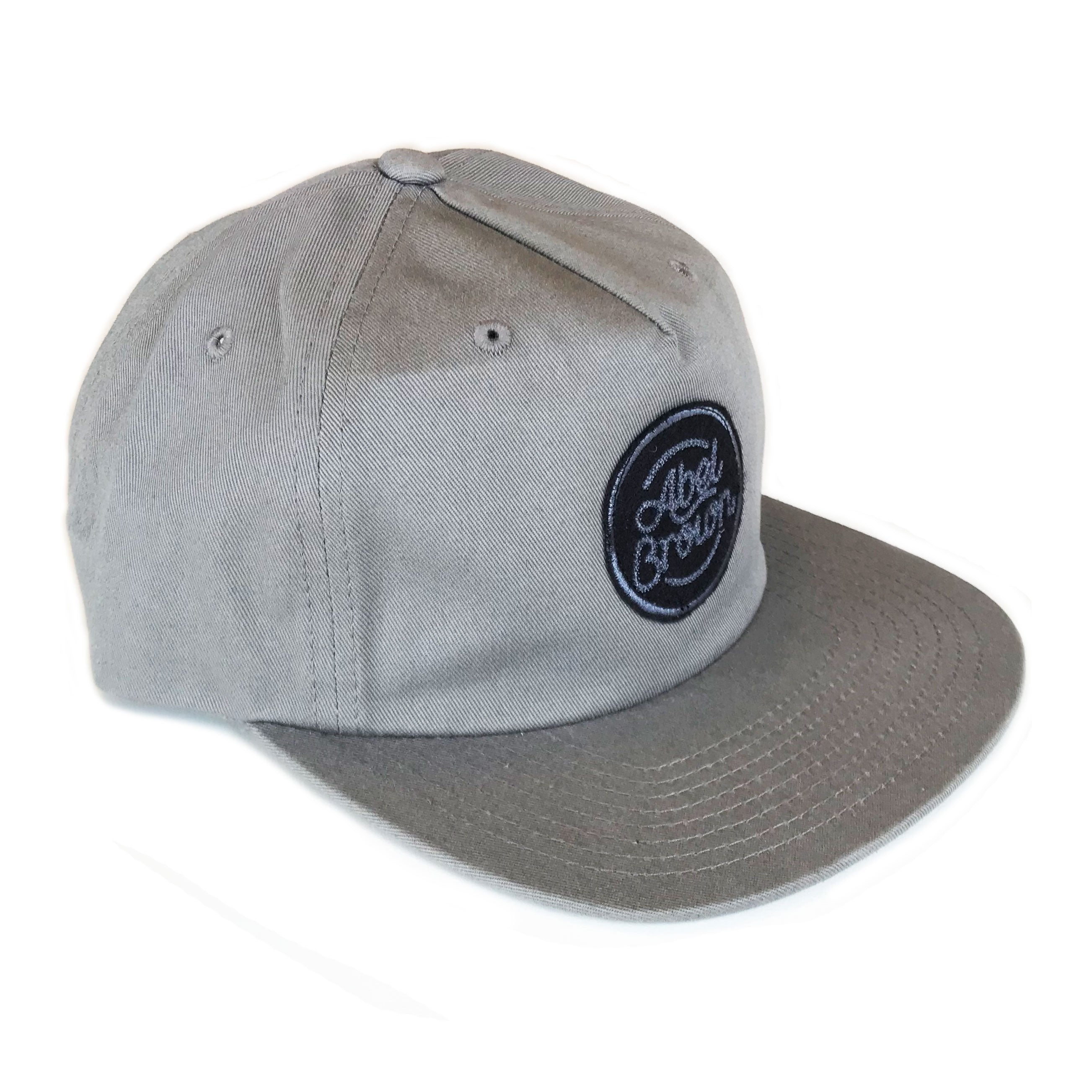 Chainstitch Hat - Grey - Abel Brown