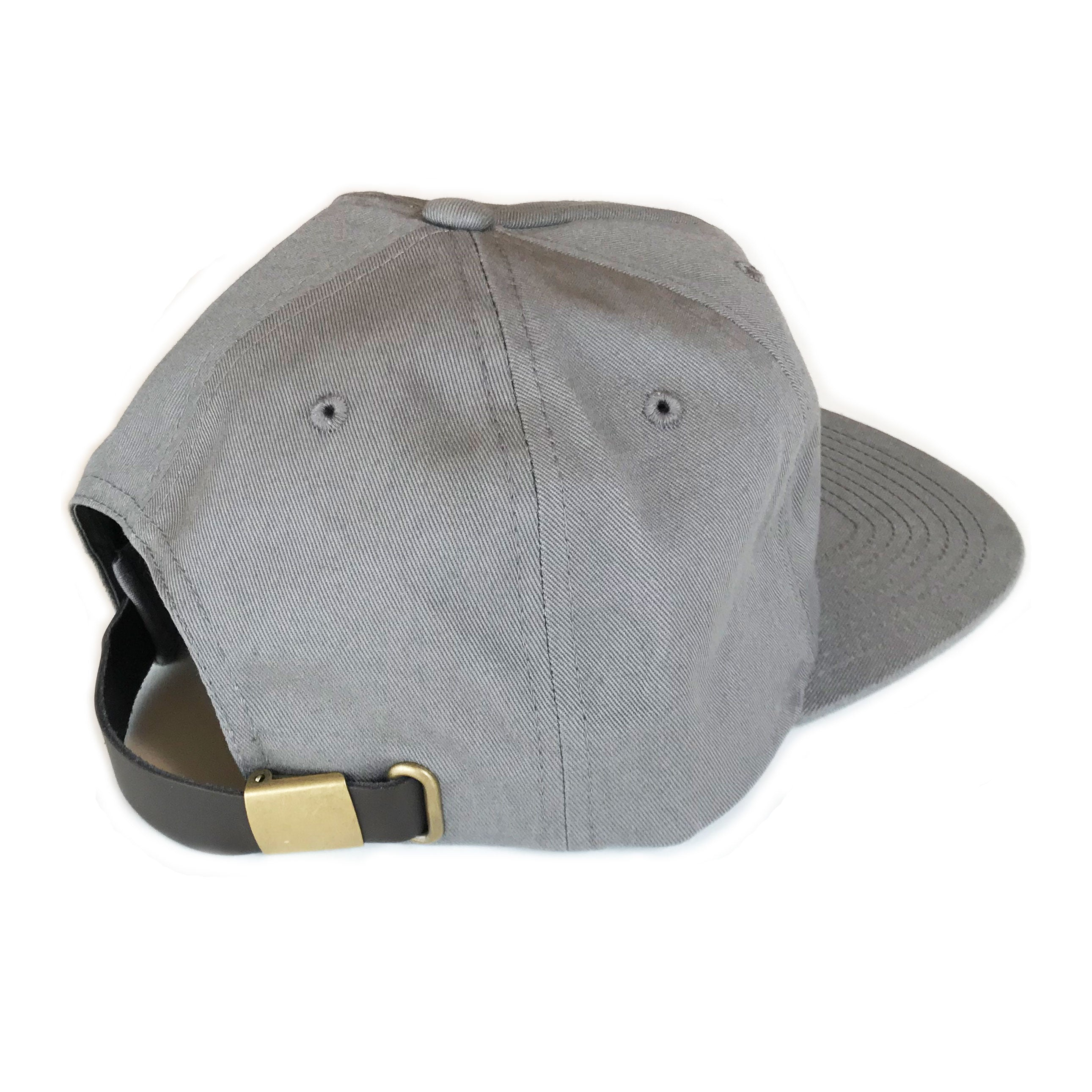 Diamond Label Hat - Grey - Abel Brown