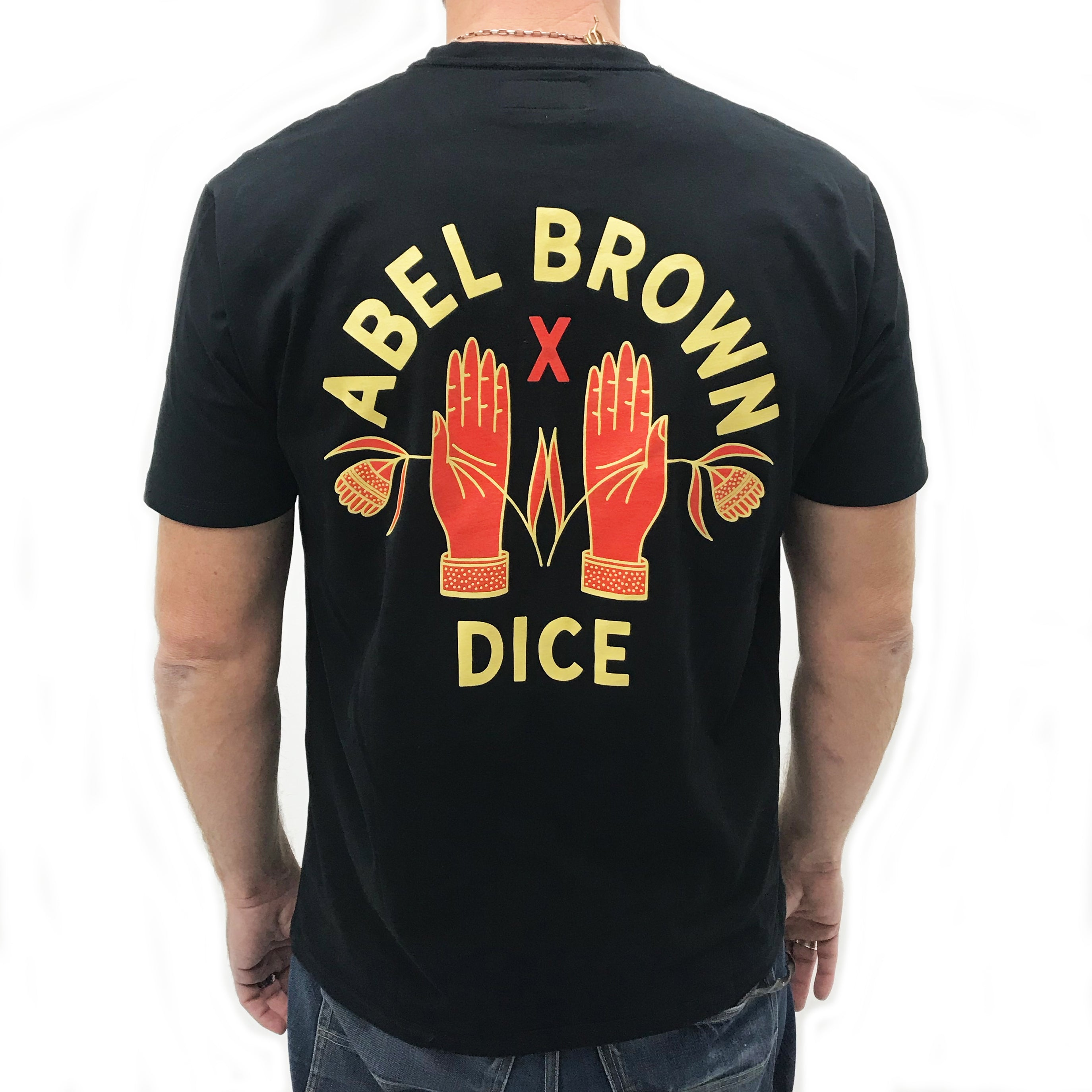 DicE x Abel Brown collab tee - Abel Brown