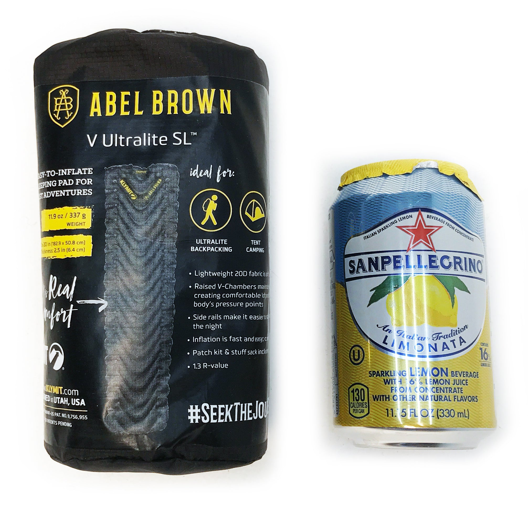 Abel Brown x  Klymit Collab V Ultralite SL Camping Sleeping Pad