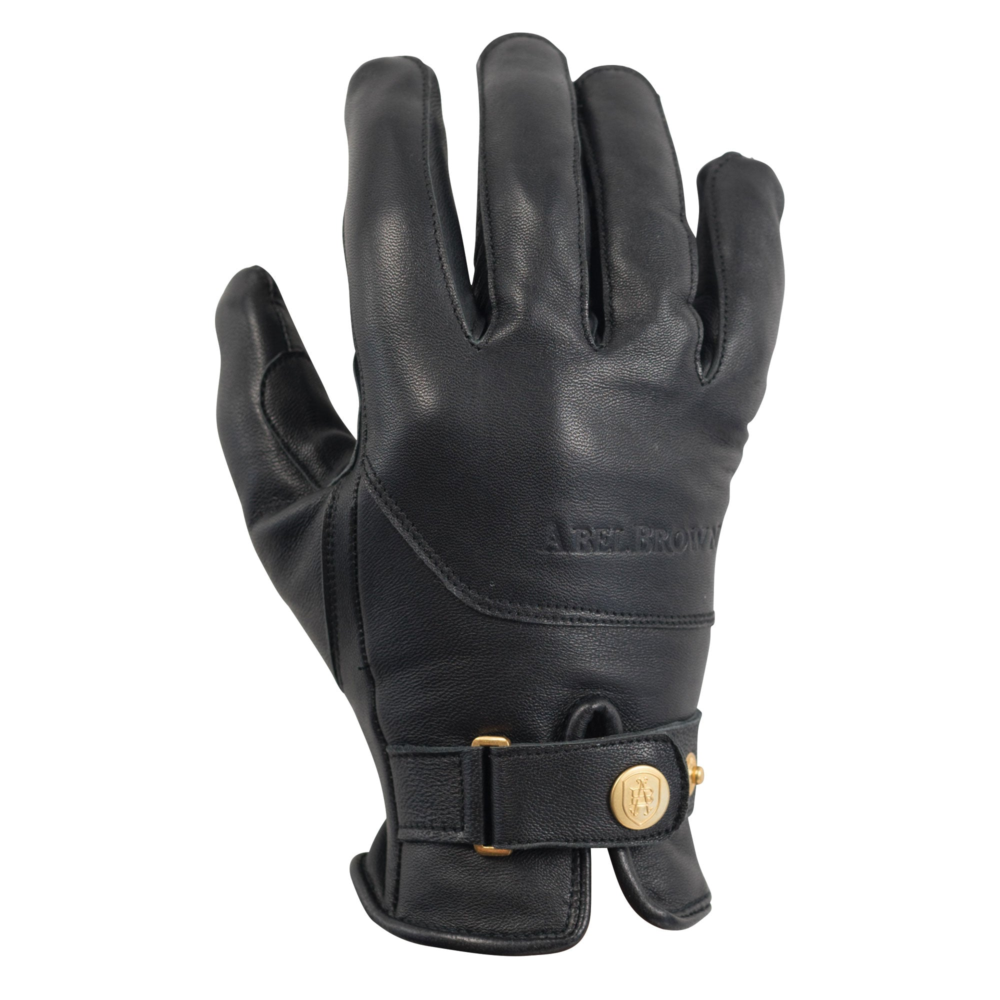 Le Mans Glove - Black - Abel Brown