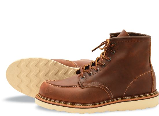 Red Wing Heritage Boot Copper 6