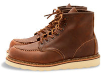 "Redwing Heritage Boot - 6"" Classic Moc - Copper - Abel Brown"