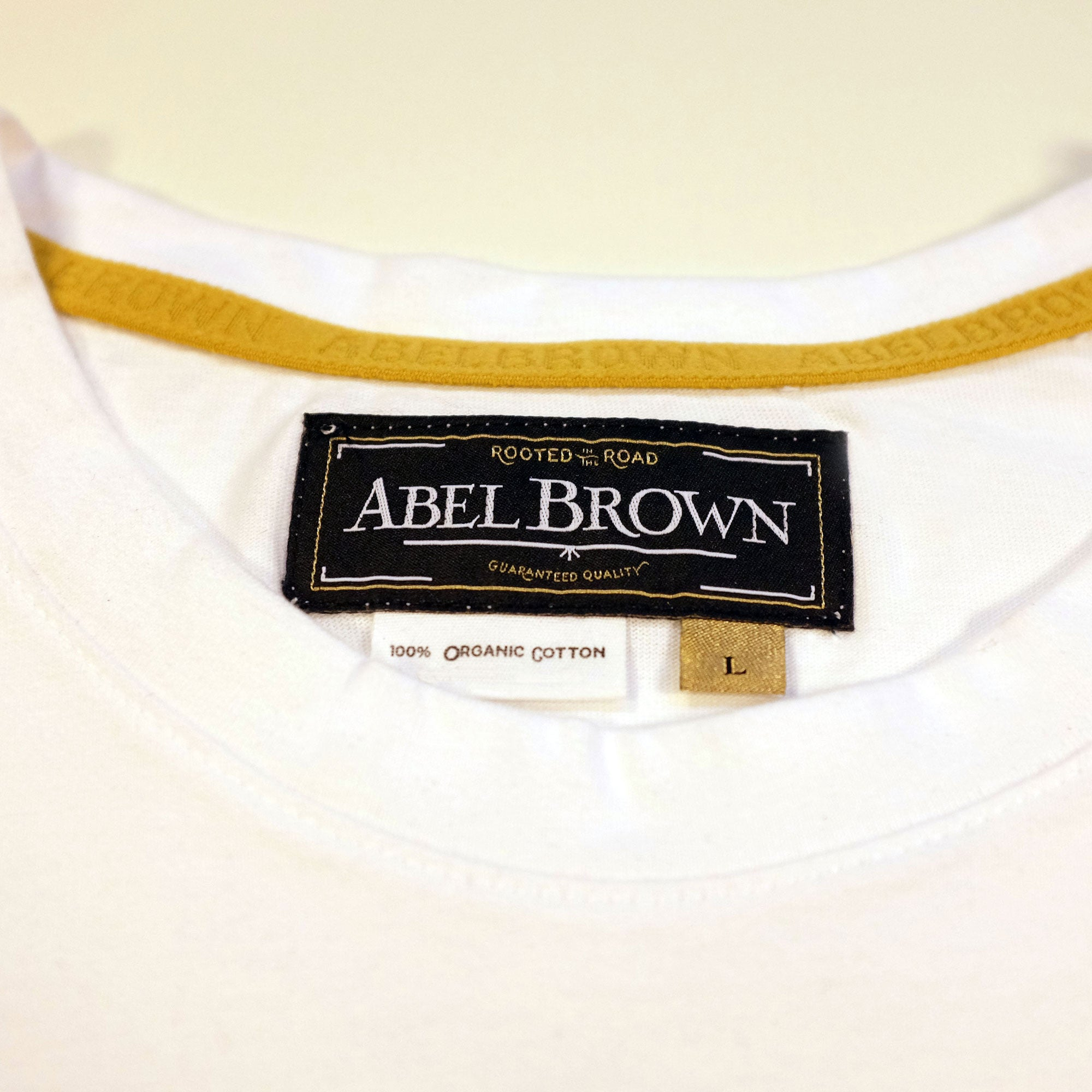 Stamp tee shirt - Abel Brown