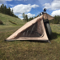 Best motorcycle tent. Nomad 2 motorcycle tent connects directly to your motorcycle with no poles : nomad motorcycle tent - memphite.com