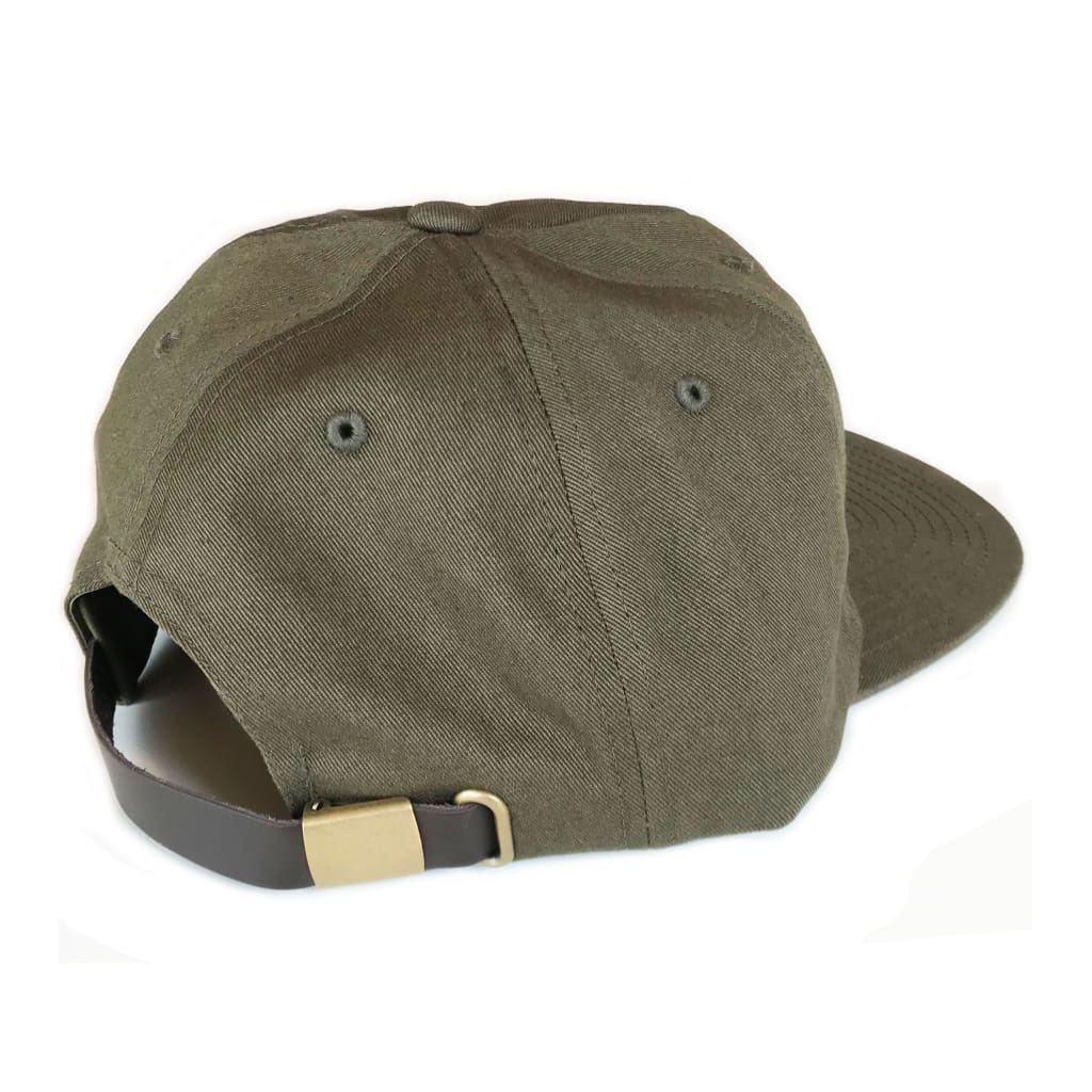Diamond Label Hat - Army - Abel Brown