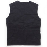 Boreas Waxed Cotton Vest - Abel Brown