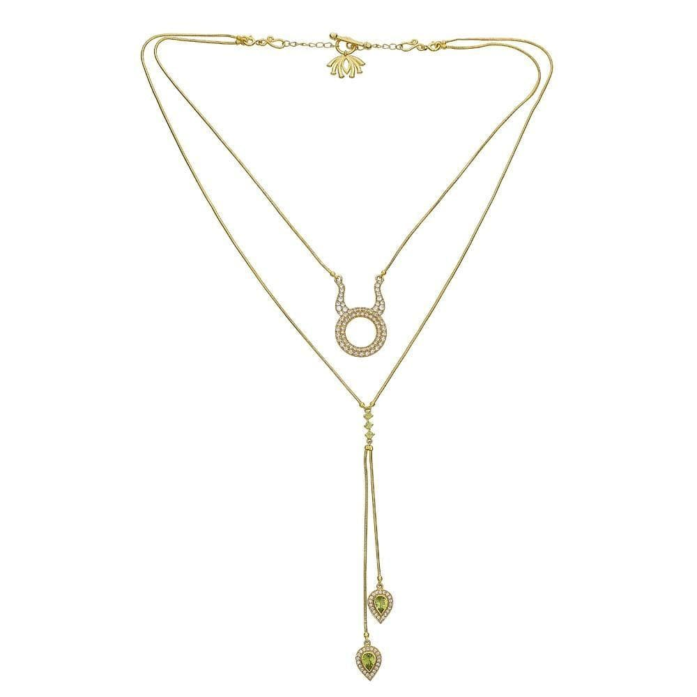 Detachable 3 in 1 Taurus Necklace