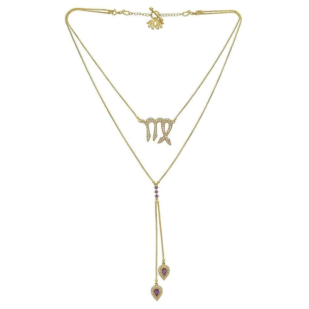 Detachable 3 in 1 Virgo Necklace