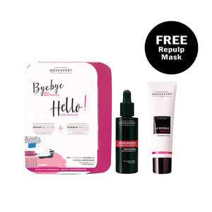 Booster Serum with Hyaluronic Acid + Repulp Mask Gift Set - Novexpert Malaysia Online