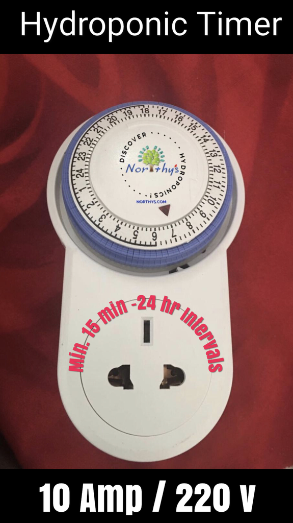 Hydroponic Grow Light Timer