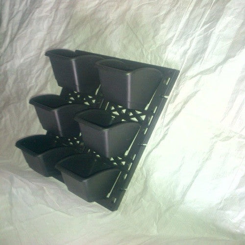 e-wall -Vertical pots (QTY - 4 sets )
